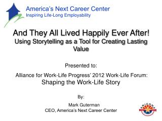 America's Next Career Center  Inspiring Life-Long Employability