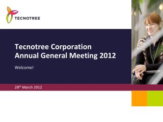 Tecnotree  Corporation Annual General Meeting  2012