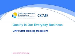 Quality Is Our Everyday Business