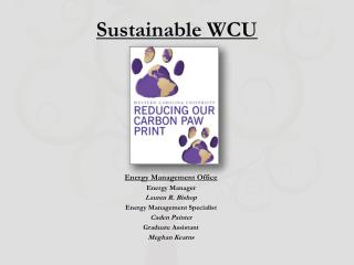 Sustainable WCU