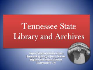 Tennessee State Library and Archives