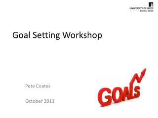 Goal  Setting Workshop
