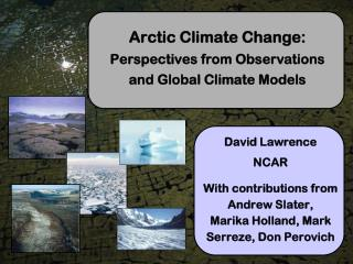 Arctic Climate Change:  Perspectives from Observations and Global Climate Models