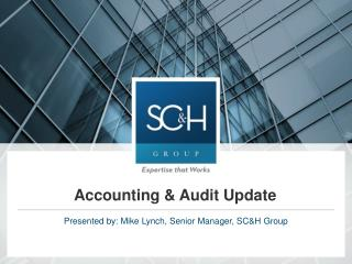 Accounting & Audit Update