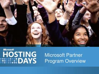 Microsoft Partner Program Overview