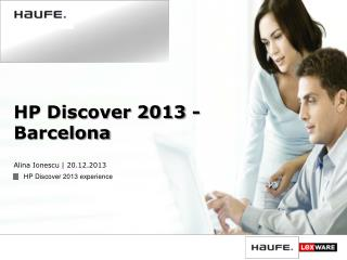HP Discover 2013 - Barcelona
