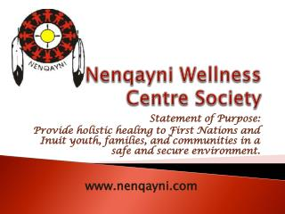 Nenqayni Wellness Centre Society