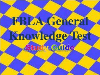FBLA General Knowledge Test
