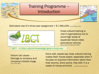 Training Programme –  Introduction