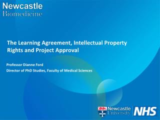 The Learning Agreement, Intellectual Property Rights and Project Approval