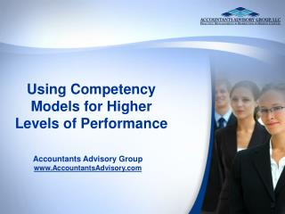 Using Competency Models for Higher Levels of Performance