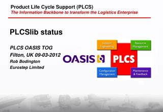 Product Life Cycle Support (PLCS) The Information Backbone to transform the Logistics Enterprise