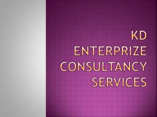 KD ENTERPRIZE CONSULTANCY SERVICES