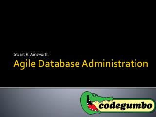 Agile Database Administration