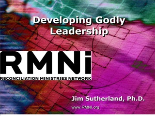 developing godly leadership