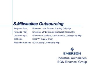 S.Milwaukee  Outsourcing