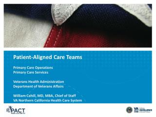Patient-Aligned Care Teams