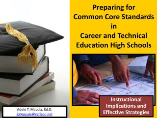 Preparing for  Common Core Standards  in  Career and Technical Education High Schools