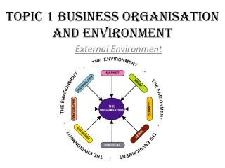 Topic 1 Business Organisation and Environment