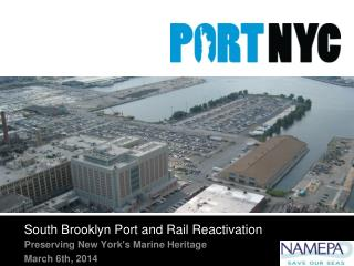South Brooklyn Port and Rail Reactivation