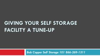 Giving your self storage facility a tune-up