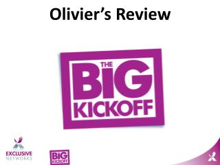 Olivier's Review