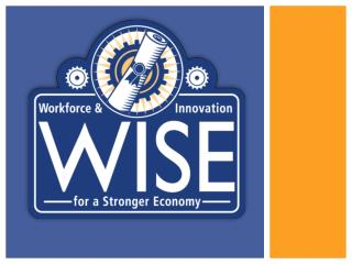 Workforce and Innovation for a Stronger Economy (WISE) Plan