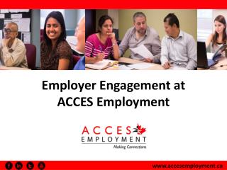 Employer Engagement at  ACCES Employment