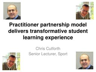 Practitioner partnership model delivers transformative student learning experience