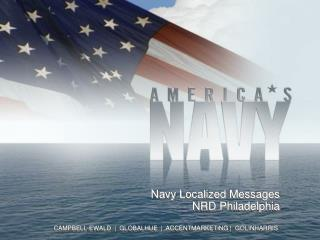 Navy Localized  Messages NRD Philadelphia