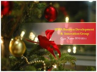 UTPA Business Development  &  Innovation Group