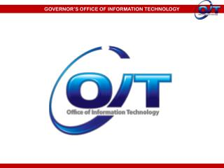GOVERNOR'S OFFICE OF INFORMATION TECHNOLOGY