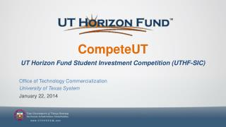 CompeteUT UT Horizon Fund Student Investment Competition (UTHF-SIC)