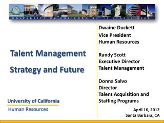 Talent Management  Strategy and Future