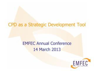 CPD as a Strategic Development Tool