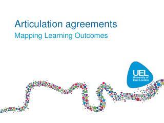 Articulation agreements