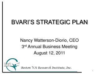 BVARI'S STRATEGIC PLAN