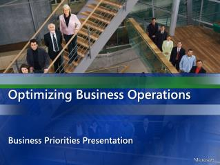 Optimizing Business Operations