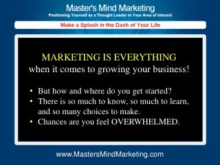 But how and where do you get started? There is so much to know, so much to learn, and so many choices to make. Chances a