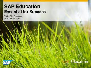 SAP Education Essential for Success