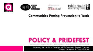 Policy & PrideFest