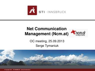 Net Communication  Management (Ncm.at)