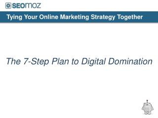 Tying Your Online Marketing Strategy Together