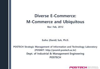 Diverse E-Commerce: M-Commerce and Ubiquitous