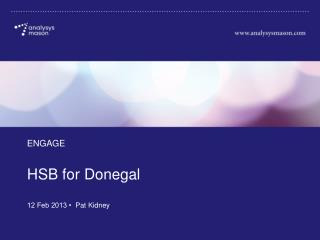 HSB  for Donegal