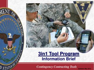 3in1  Tool Program Information Brief