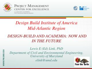 Design-Build and Academia: Now and in the Future