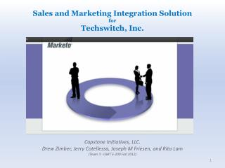 Sales  and Marketing Integration Solution  for  Techswitch ,  Inc.