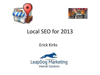 Local SEO for 2013