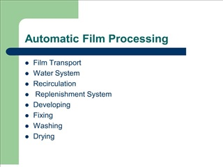 automatic film processing